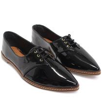 Sapato Zariff Shoes Oxford Verniz   Zariff