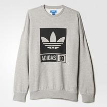 Poleron Cerrado Adidas Originals Hombre Nuevo Y Original