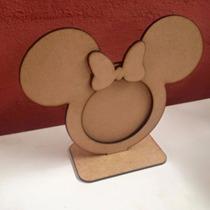 Mdf Minnie Minie Mickey Porta Retrato Frete Barato Festa