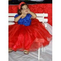 Vestidos Infantil De Organza Para Festa