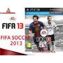 Remate Juegos Ps3 Nuevos En Fisico Fifa 13 Gran Pes