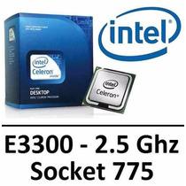 Processador Intel Dual Core E3300 2.50ghz/1m/800mhz Lga 775