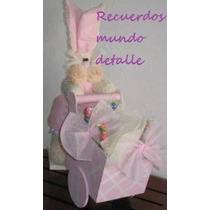 Centros De Mesa Para Baby Shower, Conejitos, Animalitos
