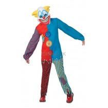 Payaso Traje - Scary Childs Xlarge Horror Circo Fantasía