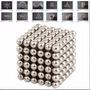 Buckyballs Magnet Silver Iman Neodimio 216 Piezas 5 Mm