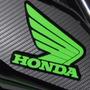 Adesivo Faixa Refletiva Sobrepor Asa Moto Honda Cg Fan 160