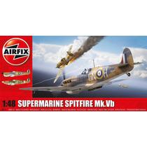 Avião Spitfire Mk.vb Airfix 1/48 Kit Tipo Revell E Tamiya