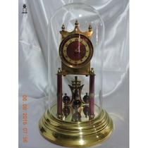 Relógio Antigo De Mesa Lindo 400 Dias Kundo Boreal Dec 1920