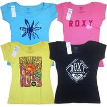 Franelas Roxy New Coleccion 2016 !variedad Colores Y Modelos