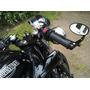 Espejos Para Moto Ovalados Fin De Manubrio Tipo Cafe Racer