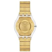 Reloj Swatch Dorado Wsch17