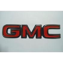 Emblema Gmc Vermelho P/ Linha Chevrolet - Bre