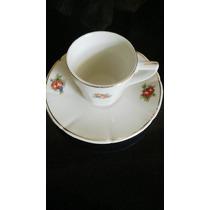 Juego De Cafe Porcelana Origen Ingles Antiguo Período 1940