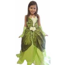 Fantasia Princesa E O Sapo - Princesa Tiana