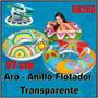 Anillo Flotador Inflable Adulto Con Asas 58263 Intex 97cm
