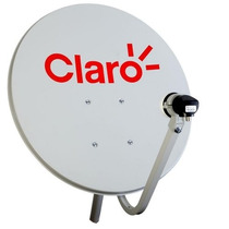 Antena Century Mini Parabólica 90cm Claro Tv Hd