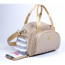 Bolsa Marmiteira Térmica Divas Bag Line Fitness Academia