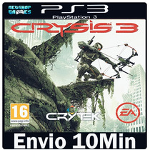 Crysis 3 [ Psn Play 3 Ps3 ] ** Midia Digital **