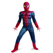 The Amazing Spider-man Movie Light Costume Muscle Up, Rojo