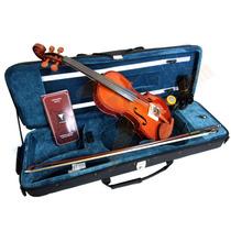 Kit Violino Eagle 441 4/4 Case Arco Breu Partitura Cavalete