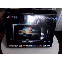 Tv Monitor Axess 22 Full Hd 1080p Dvd Totalmente Nuevo