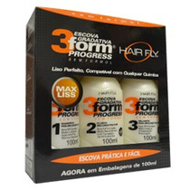 Escova Gradativa 3form Progress Hair Fly 300ml