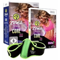 Zumba Fitness Core Para Nintendo Wii Nuevo Con Cinturon