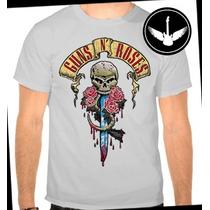 Camiseta Guns N Roses Ou Baby Look Regata Camisa Banda Rock