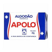 Algodao Apolo Com 25 Gramas