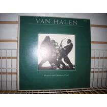 Van Halen - Women And Children First Lp En Muy Buen Estado