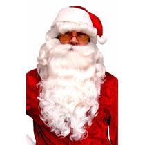 Peluca Barba Y Bigote Profesional Santa Claus Clos Navidad