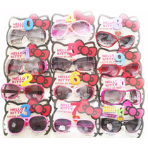 Lentes De Sol Hello Kitty Anteojos Filtro Uv 100% Real