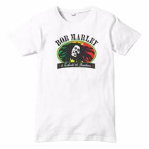 Playera Bob Marley Impresión Digital