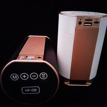 Corneta Bluetooth Speaker Radio Usb Pendrive Memoria M.sd Q9