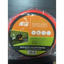 Nylon Dezmalezadora 3w 3.3 Mm X 209 Mts Naranja