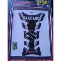 Protetor De Tanque Moto Resinado Suzuki Preto 073