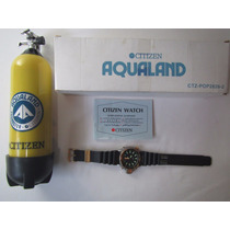 Relógio Citizen Aqualand Co23 Jp2004 Série Ouro Raridade