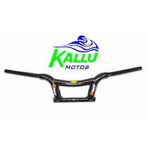 Guidão Drift Mônaco Baixo Preto Brilhante Kallu Motos