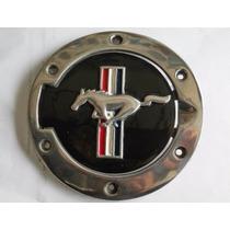 Mustang 2005 - 2009 Tapa Gasolina Emblema De Caballo Bandera