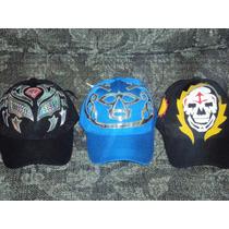 Gorras De Mascara De Luchador Huracan Ramirez Parka Sombra
