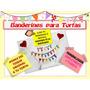 Banderines Para Tortas Personalizados