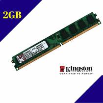 Memória Kingston Ddr2 2gb 800mhz Pc2-6400 Ref.2375 Cl