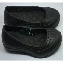 Crocs Feminino Modelo Sapato Anabela Super Confortáveis