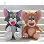 Boneco Pelucia Tom Ou Jerry 25cm ** Promoção**