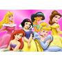 Painel Decorativo Festa Infantil Disney Princesas (mod4)