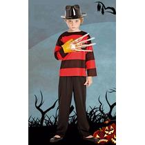 Disfraz Halloween Freddy Completo Garra Y Sombrero! Jiujim