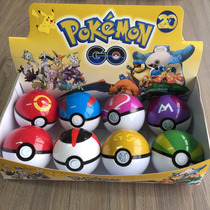 8 Pokémon - Pokebola Pokeball - Pokebola Padrão Sortidas