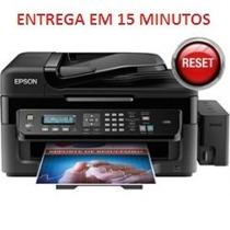 Reset Epson L555, Almofada, Fim Da Vida Util, Led Piscando.