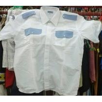 Camisa De Seguridad Privada Mangas Cortas Talle 42 Envios