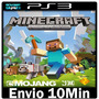 Minecraft Ps3 Play3 Psn ** Jogo Midia Digital -- Portugu